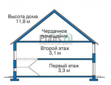 Высота этажей :: Проект 39-52