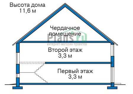 Высота этажей :: Проект 39-91