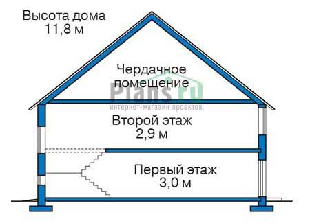 Высота этажей :: Проект 39-97