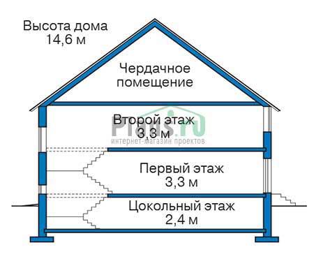 Высота этажей :: Проект 40-02