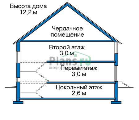 Высота этажей :: Проект 40-11