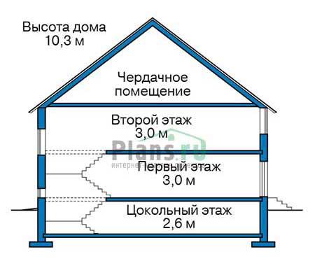 Высота этажей :: Проект 40-14