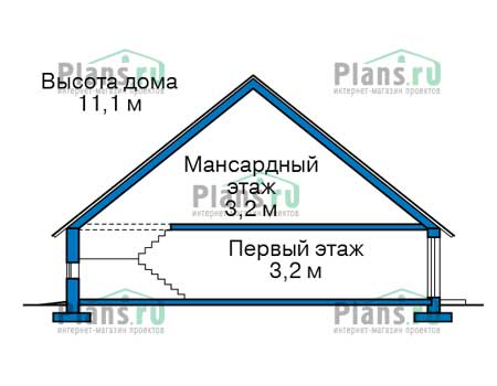 Высота этажей :: Проект 40-19