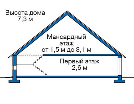 Высота этажей :: Проект 40-36