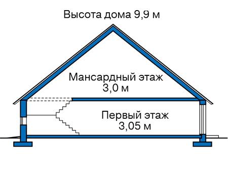 Высота этажей :: Проект 40-39