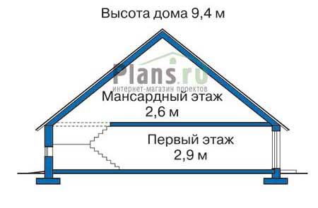 Высота этажей :: Проект 51-93