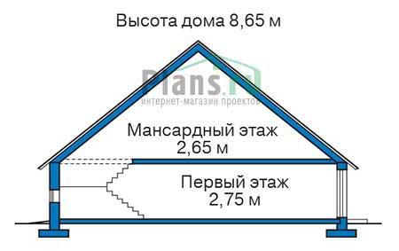 Высота этажей :: Проект 54-30