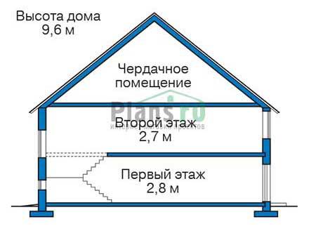 Высота этажей :: Проект 56-03