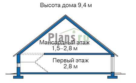 Высота этажей :: Проект 71-65