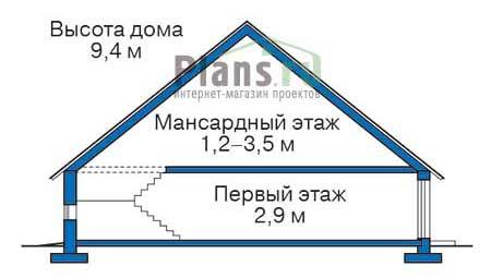 Высота этажей :: Проект 72-11