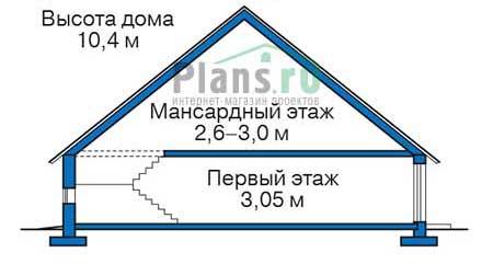 Высота этажей :: Проект 72-73